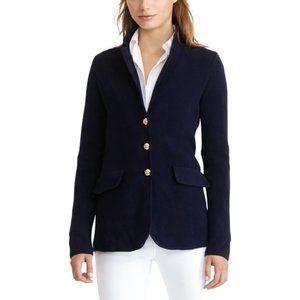 LAUREN Ralph Lauren Navy Blue Blazer Cardigan L